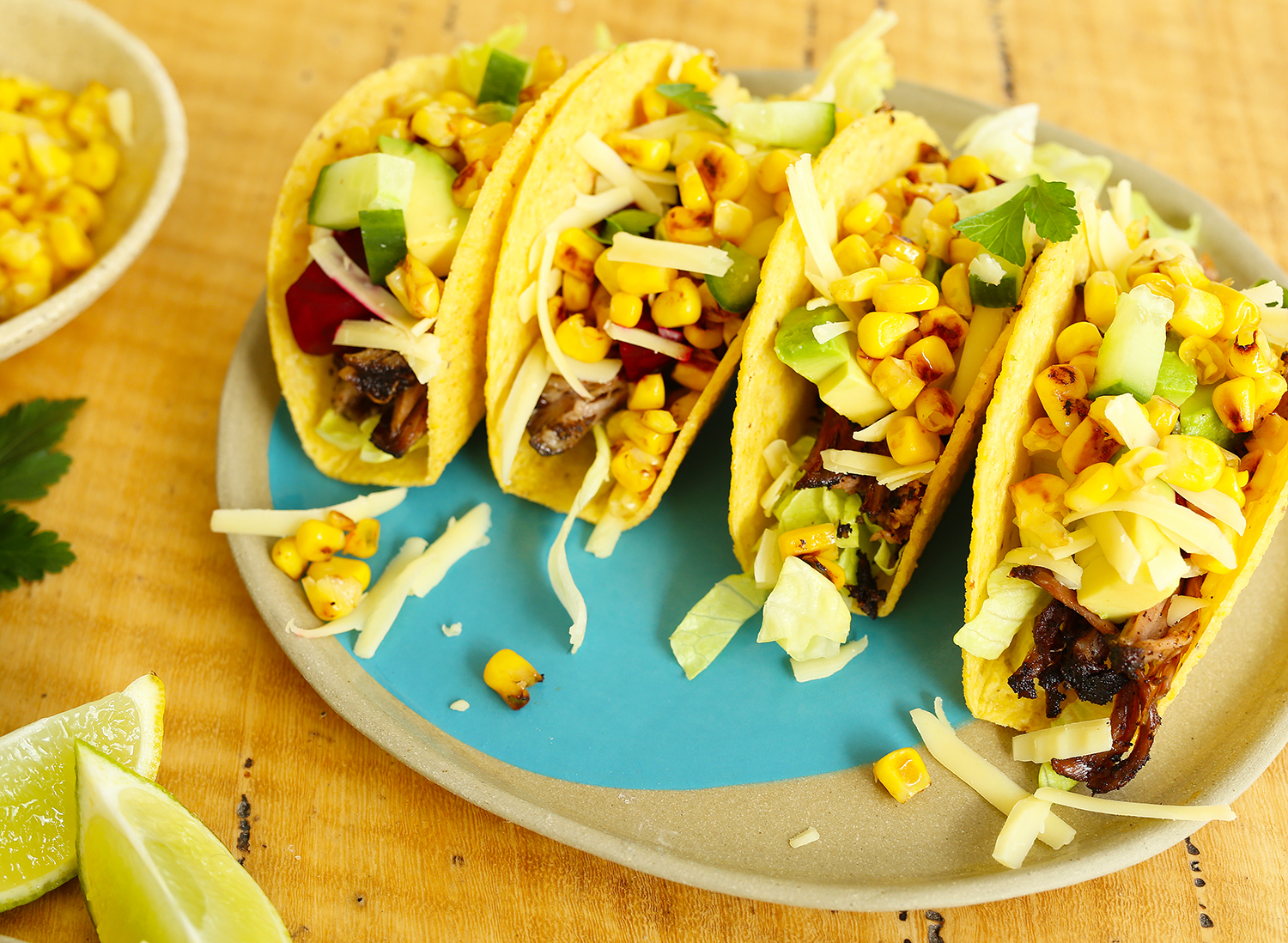 Leftover Roast Beef Tacos, Grilled Corn   Kids Eat by Shanai