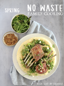 No Waste Family Cooking Spring Cover